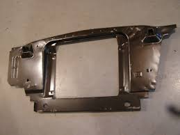 1965 mustang sheet metal nos 1965 1966 ford mustang radiator support sheet metal shelby
