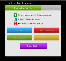 flash on android uniflash manage android devices flash mod roms from your pc