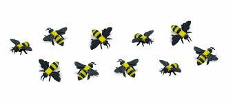 amazon com safari ltd mini bumble bees toys u0026 games