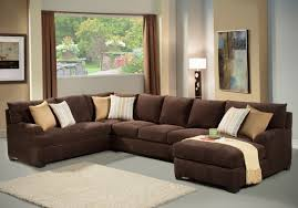 Living Room Sectionals With Chaise Living Room Comfortable Double Chaise Sectional For Excellent