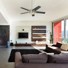 Ceiling Fan For Living Room by Living Room Hunter Ceiling Fans With Glass Windows Also Brown