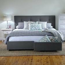 storage bed frames uk king storage bed frame diy small double
