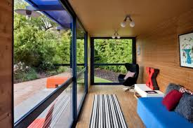 container home interior container home with a green roof poteet architects humble homes
