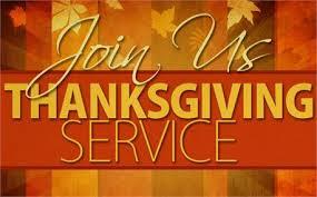 community thanksgiving service community presbyterian church