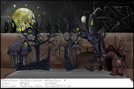 tim burton stage design by dgeer on deviantart