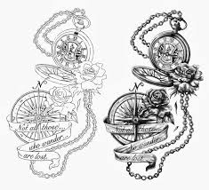 best 25 pocket watch tattoo design ideas on pinterest pocket