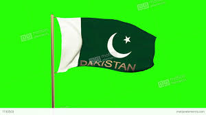 Pakistan Flag Picture Pakistan Flag With Title Waving In The Wind Looping Sun Rises