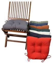 blazing needles u shape 16 x 16 in twill dining chair cushions