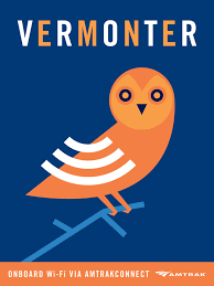 Vermont travel wifi images Clever amtrak wi fi posters vermont railway posters and travel jpg