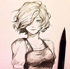 pictures anime sketches drawing art gallery