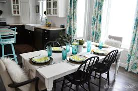Diy Kitchen Ideas A Black White And Turquoise Diy Kitchen Design With Ikea Cabinets