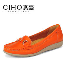 Comfortable Supportive Shoes Jie Spring Style Lady Flat With Singles Shoes Daily Leisure