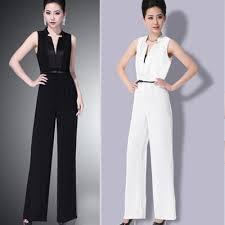 womens formal jumpsuits 2015 summer sleeveless jumpsuits overalls work wear
