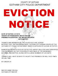 eviction notice printable sample eviction notice form fun fact