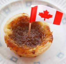 canadian maple syrup tarts
