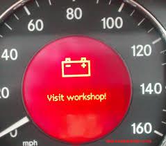 resetting battery gauge battery alternator visit workshop diy mb medic