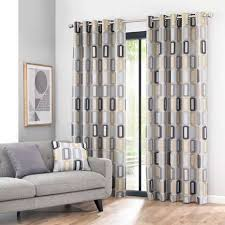 livingroom curtains elements dahl ochre eyelet curtains dunelm