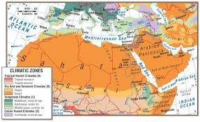 Africa Physical Map Climate Map Of Southwest Asia Mexico At North Africa And