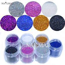 holographic glitter 7colors 10ml 0 2mm holographic glitter powders nail hologram