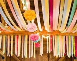 tissue streamers crepe paper streamers tissue paper streamers party