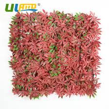 aliexpress com buy uland plastic plants panels red artificial