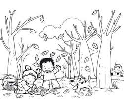 autumn animals coloring page tags coloring page autumn realistic