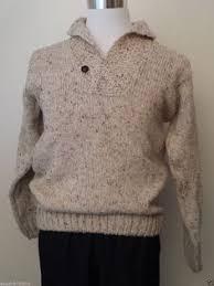details about men wool cardiga sweater size m uomo firenze dark