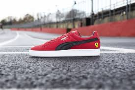 ferrari shoes puma release the ferrari edition suede scrutinize the creative
