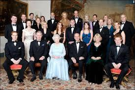 royal family tree of headed by elizabeth ii
