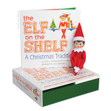 elf on the shelf blue eyed book toys
