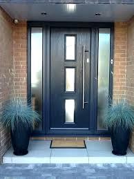 Composite Exterior Doors Appealing Modern Front Doors Contemporary Composite
