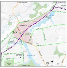 map of northton ma maps of northton trails and greenways