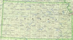 Map Of United States With Cities by Kansas Outline Maps And Map Links
