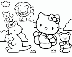 baby kitty coloring pages dessincoloriage