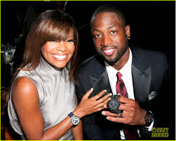 gabrielle union rocks bangs after marrying husband dwyane wade