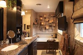 bathroom countertop decorating ideas bathroom rustic corner bathroom vanity with granite countertop