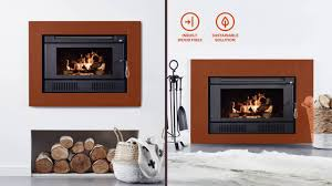 scandia inbuilt wood fires in a minute youtube