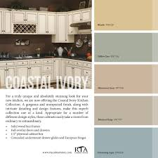 best ivory paint for kitchen cabinets color palette to go with our coastal ivory cabinet line