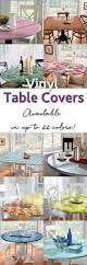 Round Elastic Tablecloth Top 25 Best Vinyl Table Covers Ideas On Pinterest Camper