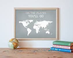 Etsy World Map by Kids Wall Decor 202 Best Decor Ideas For Kids Room Images On