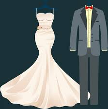 wedding clothes wedding clothes design luxury formal style free vector in adobe