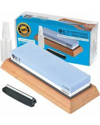 best whetstone for kitchen knives find the best deals on qkt professional knife sharpening whetstone