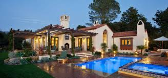 tuscany style house decor tuscan style homes with swimming pool and garden lighting