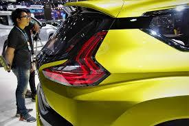 mitsubishi xm concept mitsubishi xm concept rear light thailand international motor expo