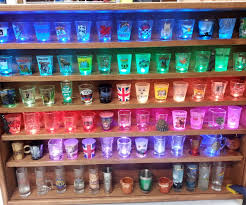 Liquor Display Shelves by Illuminated Shot Glass Shelf 4 Steps With Pictures
