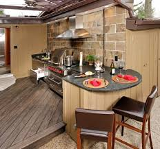 Outdoor Kitchen Designs With Pizza Oven by Innovation Idea Outside Kitchen Designs Marvelous Decoration