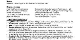 Automotive Resume Examples by Auto Mechanic Resume Objective Examples Auto Mechanic Resume