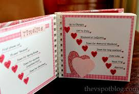 valentines gifts for boyfriend swish this book made up ofcards to tell him reasons why you