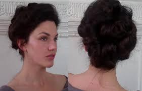 hairstyles from 1900 s pompadour puffs an edwardian updo tutorial meduim long