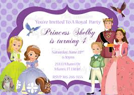 disney princess birthday party invitations free printables